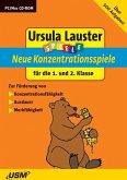 Ursula Lauster Spiele: Neue Konzentrationsspiele für die 1.und 2. Klasse (PC+Mac)