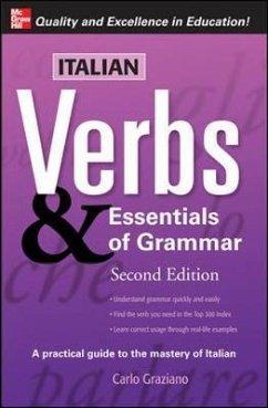 Italian Verbs & Essentials of Grammar, 2E. - Graziano, Carlo