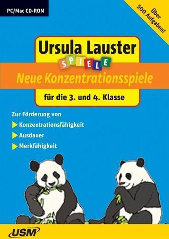 ursula lauster spiele neue konzentrationsspiele f252r die 3