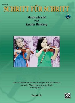 Schritt für Schritt. Macht alle mit!, für Violine, m. Audio-CD