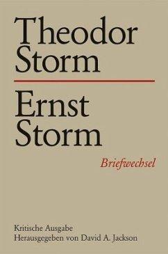Theodor Storm - Ernst Storm / Briefwechsel Bd.17 - Storm, Theodor