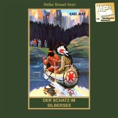 Der Schatz im Silbersee, 1 MP3-CD / Gesammelte Werke, MP3-CDs 36 - May, Karl;May, Karl May, Karl