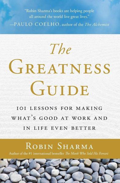 Greatness Guide The Von Robin S Sharma Englisches Buch