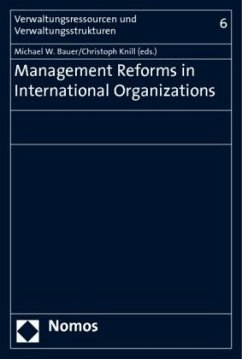 Management Reforms in International Organizations