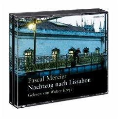 Nachtzug nach Lissabon, 6 Audio-CDs - Mercier, Pascal