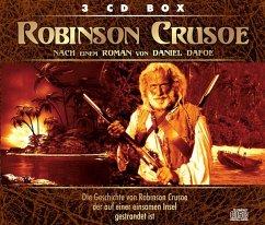 Robinson Crusoe, 3 Audio-CDs - Defoe, Daniel