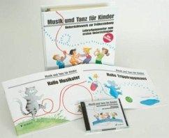 Die Neuausgabe, 1. Unterrichtsjahr komplett - 2 Kinderhefte, 1 Lehrer-Ordner u. 2 Audio-CDs