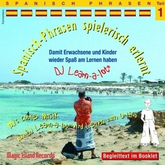 Spanisch Phrasen, 1 Audio-CD