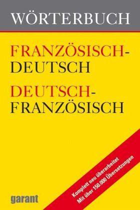 Dictionary deutsch französisch