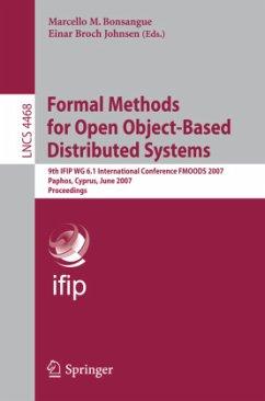 Formal Methods for Open Object-Based Distributed Systems - Bonsangue, Marcello M. (Volume ed.) / Johnsen, Einar Broch