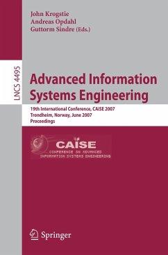 Advanced Information Systems Engineering - Krogstie, John (Volume ed.) / Opdahl, Andreas L. / Sindre, Guttorm