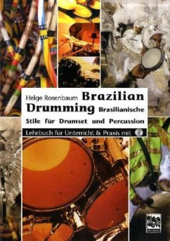 Brazilian Drumming, m. Audio-CD