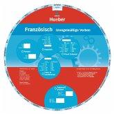 Wheel. Unregelmäßige Verben Französisch. Sprachdrehscheibe