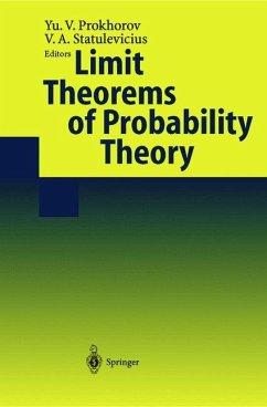 Limit Theorems of Probability Theory - Prokhorov, Yu.V. / Statulevicius, V. (eds.)