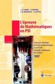 L'épreuve de Mathématiques en PSI