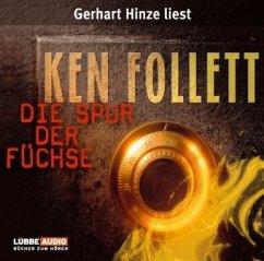 Die Spur der Füchse, 4 Audio-CDs - Follett, Ken