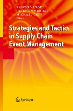 Strategies and Tactics in Supply Chain Event Management - Ijioui, Raschid / Emmerich, Heike / Ceyp, Michael (eds.)