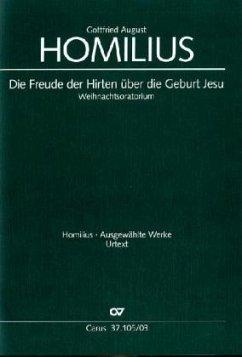 Die Freude der Hirten über die Geburt Jesu HoWV I.1, Klavierauszug - Homilius, Gottfried August