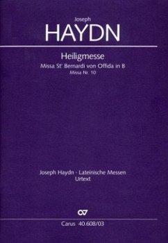 Messe B-Dur Hob.XXII:10 (Heilig-Messe), Klavierauszug