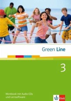 Green Line 3. Workbook mit Audio CD und CD-ROM