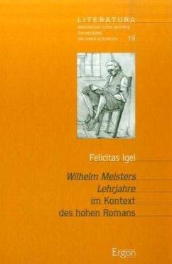 Wilhelm Meisters Lehrjahre im Kontext des hohen Romans