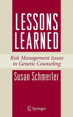 Lessons Learned - Schmerler, Susan