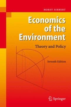 Economics of the Environment - Siebert, Horst
