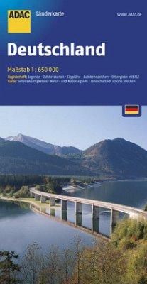 ADAC Karte Deutschland, 1 : 650.000