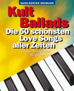 Kult Ballads, Songbook für Klavier