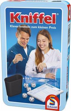 Schmidt 51203 - Kniffel, Metalldose