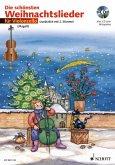 Für Violoncello, m. Audio-CD / Die schönsten Weihnachtslieder, Notenausg. m. Audio-CDs