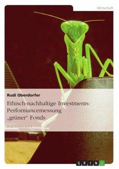 Ethisch-nachhaltige Investments: Performancemes...