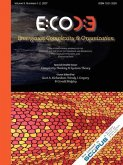 Emergence, Volume 9: Complexity & Organization (9.1-2)