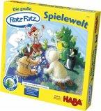 Die große Ratz-Fatz-Spielewelt (Kinderspiel), m. Buch u. Audio-CD