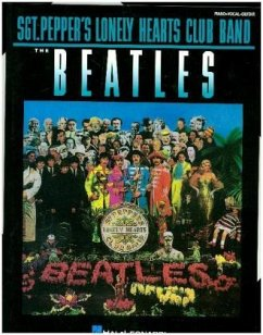 Sgt Peppers Lonely Hearts Club Band For Piano, Voice & Guitar - The Beatles