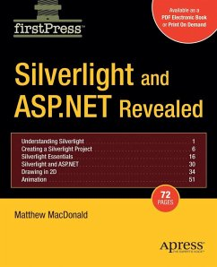 Silverlight and ASP.NET Revealed - MacDonald, Matthew