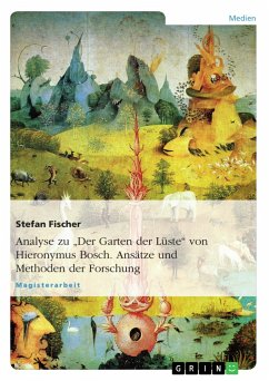 ''Der Garten der Lüste'' von Hieronymus Bosch. Ansätze und Methoden der Forschung