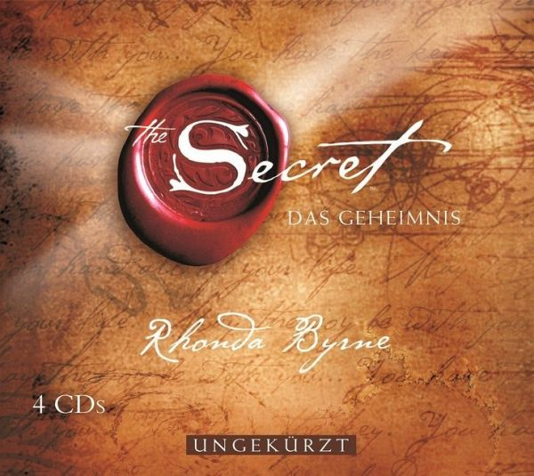 The Secret - Das Geheimnis, 4 Audio-CDs - Diverse
