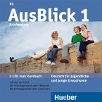 Brückenkurs, 2 Audio-CDs zum Kursbuch / AusBlick, Deutsch für Jugendliche und junge Erwachsene Bd.1