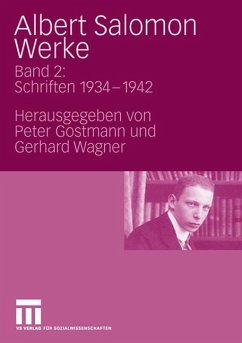 Albert Salomon Werke - Salomon, Albert