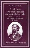 Forschungen über das Räthsel der mannmännlichen Liebe in zwölf Schriften. 4 Bände