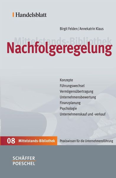 Nachfolgeregelung von Birgit Felden; Annekatrin Klaus