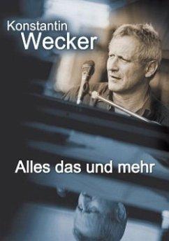 Konstantin Wecker - Alles das und mehr (2 DVDs)