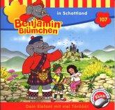 Benjamin Blümchen in Schottland / Benjamin Blümchen Bd.107 (1 Audio-CD)