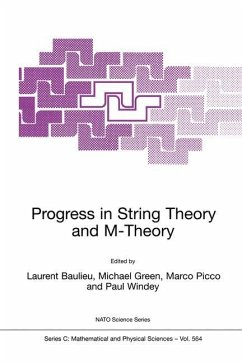 Progress in String Theory and M-Theory - Baulieu, L. / Green, Michael / Picco, Marco / Windey, Paul (Hgg.)