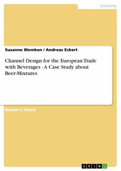 Channel Design for the European Trade with Beverages - A Case Study about Beer-Mixtures - Eckert, Andreas; Wemken, Susanne