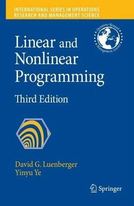 linear and nonlinear programming david luenberger pdf