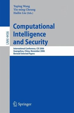 Computational Intelligence and Security - Wang, Yunping / Cheung, Yiu-ming / Liu, Hailin (eds.)