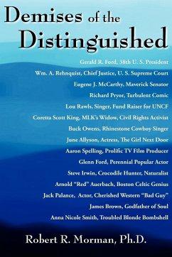 Demises of the Distinguished