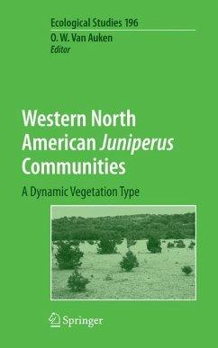 Western North American Juniperus Communities - Auken, Oscar van (ed.)
